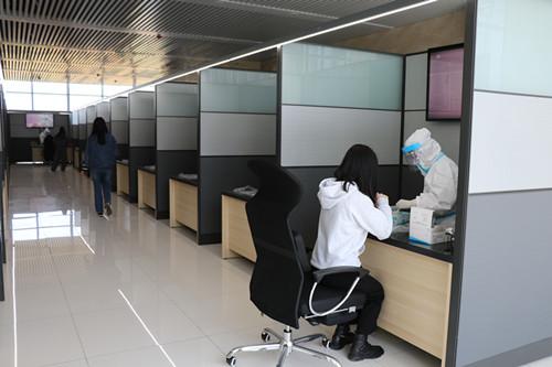 方阵金保网全员核酸检测