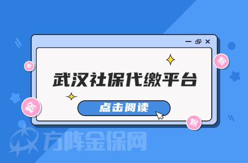 武汉社保代缴平台